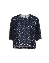 Mantu Blouses Dark Blue