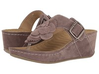 David Tate Spring Sand Suede Women's Clog Mule Shoes Tan