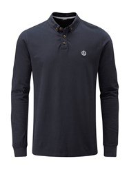 Henri Lloyd Men's Adel Ls Regular Polo Navy