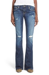 Junior Women's Vigoss 'Chelsea' Bootcut Jeans Dark Wash