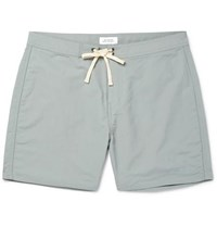 Saturdays Surf Nyc Colin Mid Length Swim Shorts Light Blue