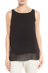 Eileen Fisher Women's Tiered Silk Georgette Tank