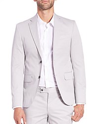 Saks Fifth Avenue Modern Fit Ford Sportcoat Grey