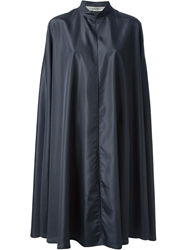 Jean Louis Scherrer Vintage Long Cloak Blue