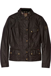 Belstaff Colby Cotton Shell Jacket Brown