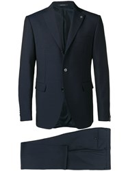 Tagliatore Slim Fit Suit Blue