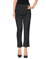 Harmontandblaine Trousers Casual Trousers Women Steel Grey