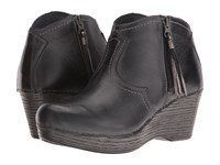 Dansko Veronica Black Distressed Women's Boots