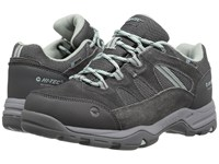 Hi Tec Bandera Ii Low Waterproof Charcoal Cool Grey Lichen Women's Shoes Gray