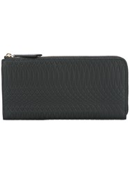 Paul Smith Textured Wallet Women Calf Leather One Size Black