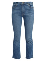 The Great Nerd Mid Rise Kick Flare Jeans Denim