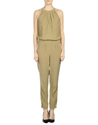 Atos Lombardini Jumpsuits Military Green