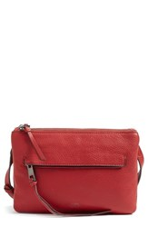 Vince Camuto Gally Leather Crossbody Bag Red Lady Bug