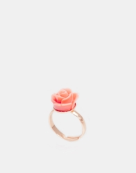 Johnny Loves Rosie Peach Stone Ring