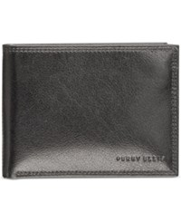 Perry Ellis Men's Leather Rfid Passcase Brown