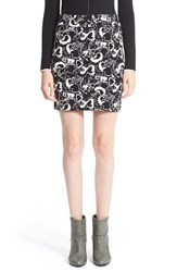 Rag And Bone Women's Rag And Bone Floral Pattern Miniskirt