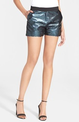Ted Baker 'Laxton' Sequin Shorts Blue