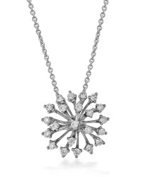 Hueb Luminus 18K White Gold Diamond Pendant Necklace