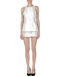 Cameo Jumpsuits White