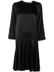 Ganni Flared Dress Black
