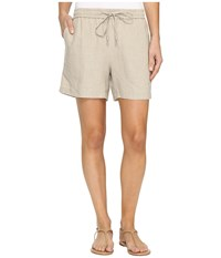 Tommy Bahama Two Palms Easy Shorts Natural Women's Shorts Beige