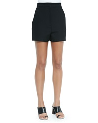 Proenza Schouler High Waisted Shorts Black