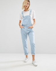 Dr. Denim Dr Vilde Relaxed Dungaree 80S Stone Blue