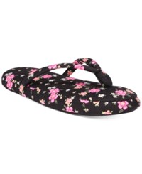 Charter Club Printed Slippers Only At Macy's Tropical Floral