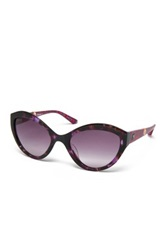 M Missoni Women's Cat Eye Acetate Frame Sunglasses Purple