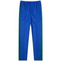 Kenzo Tapered Cropped Sideband Pant Blue