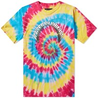 Raised By Wolves Tie Dye Acid Tee Multi