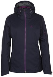Salomon Pathfinder 3 In 1 Hardshell Jacket Big Bluex Cosmic Purple Dark Purple