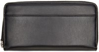 Maison Martin Margiela Black Leather Continental Wallet