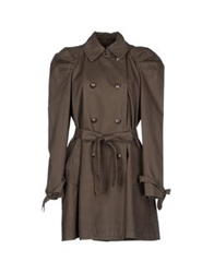 Juicy Couture Full Length Jackets Military Green