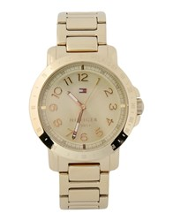 Tommy Hilfiger Timepieces Wrist Watches Women Gold