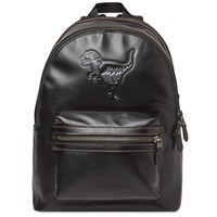 Coach Rexy Academy Backpack Black