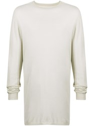 Rick Owens Long Sleeve Fitted Top 60