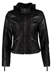 Gipsy Tiffy 2 Faux Leather Jacket Black