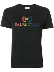 Balenciaga Laurier T Shirt Black