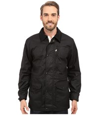 Filson Cover Cloth Mile Marker Coat Black Men's Coat