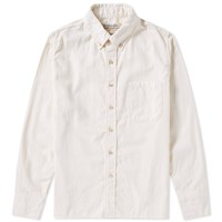 Remi Relief Button Down Flannel Shirt Neutrals