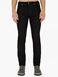 Helmut Lang Black Denim Slim Fit Jeans