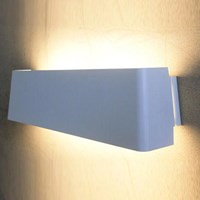 Tango Lighting Manhattan Big Wall Light Blue Tan White