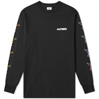 Alltimers Long Sleeve Action Tee Black