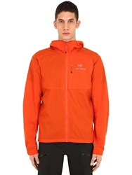 Arc'teryx Squamish Hooded Nylon Jacket Orange