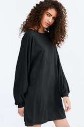 Truly Madly Deeply Oversized Tee Dress Black