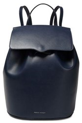 Rebecca Minkoff Woman Leather Backpack Navy