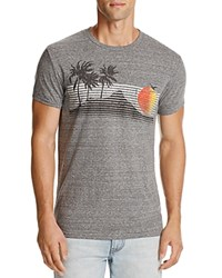 Sol Angeles Half Moon Bay Graphic Tee Heather