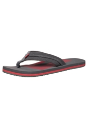 Dc Shoes Central Flip Flops Grey Red
