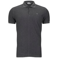J. Lindeberg J.Lindeberg Men's Rubi Slim Fit Polo Shirt Dark Grey Melange